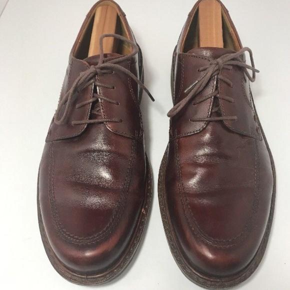 ecco brown dress shoes